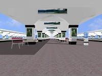 3d passanger platform