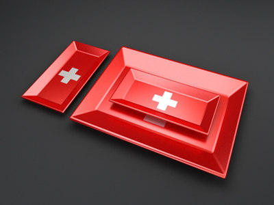 swiss elongated food serving trays max