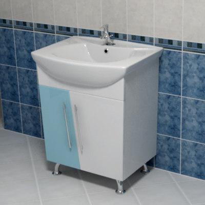 3dsmax washbowl sink