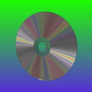 blend realistic cd disc better