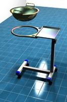 cart organs 3d model