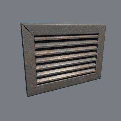 vent cover 3d max