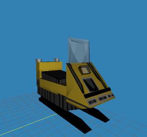 ski doo 3d model