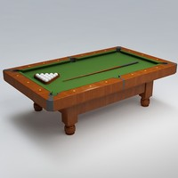 3ds pool table