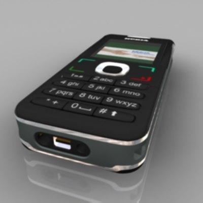 cellular phone nokia 6020 3d max