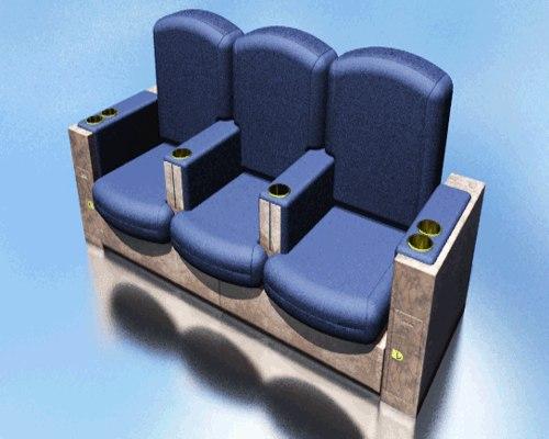 3d max jet seat