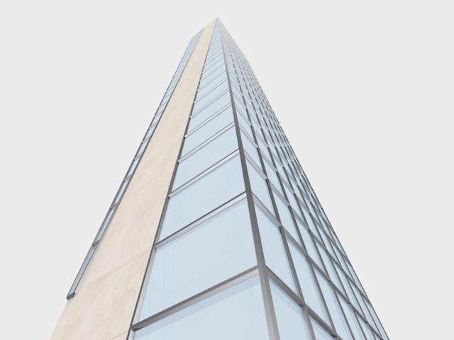 3d concept skyscraper