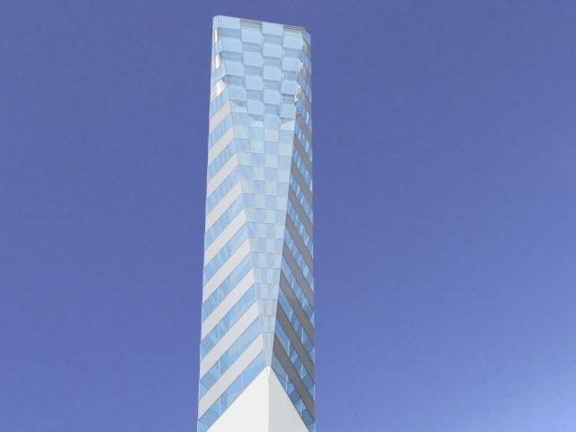 concept skyscraper 3d max