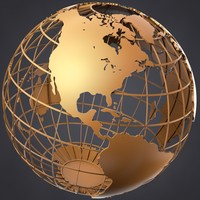 Framed Globe