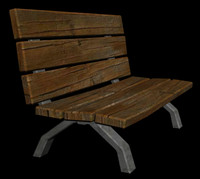 wood bench max free