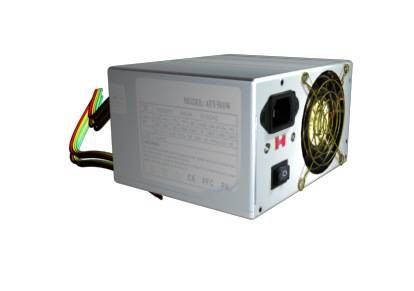 pc power supply unit 3d model