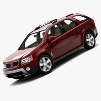 pontiac torrent 2008 3d model