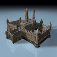 c4d castle