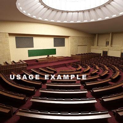 hall university 3d 3ds