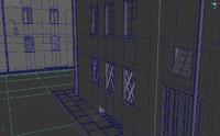 3d buildings model