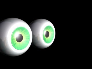 eye 3d model