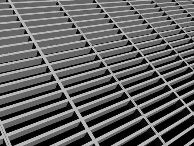 3ds max steel grate floor