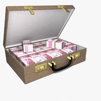 suitcase cash 3d 3ds