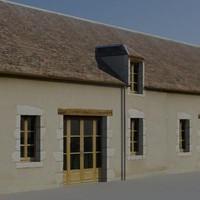3ds cottages building
