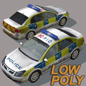 maya police car01 car uk