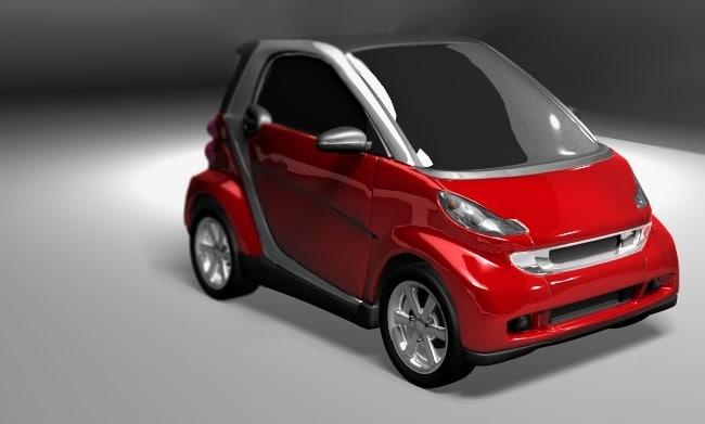 3d smart 2007-2008