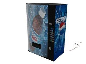 pepsi machine 3d max