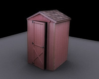 Photorealistic Shack/Shed