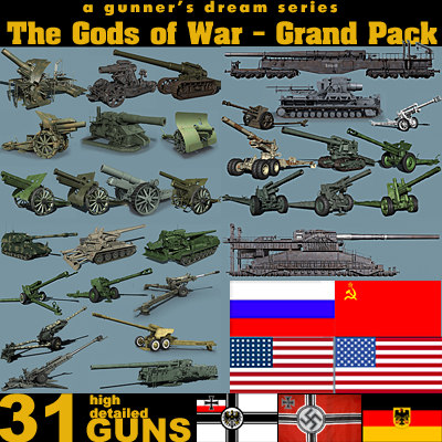 3d artillery war