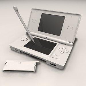 ds lite console 3d model