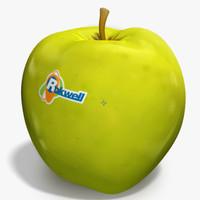 apple golden 3d max