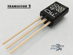 transistor 2 3d model