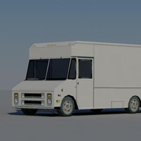 3d model truck vehicle