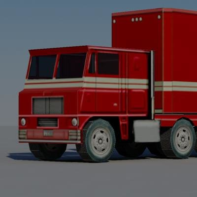 truck vehicle 3ds