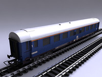3d deutsche bahn blue 1st