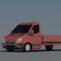 3d 3ds trucks vehicle