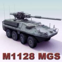 m1128 stryker 3d model