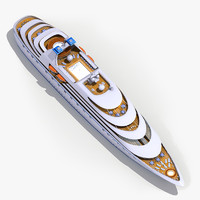 3d model passenger cruise ship