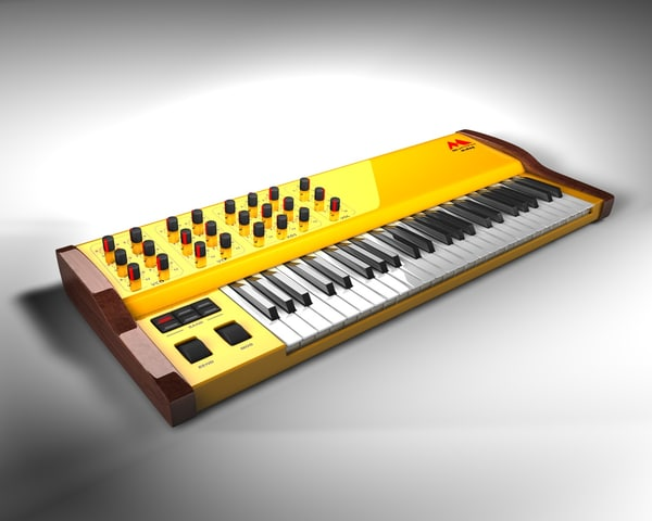 synthesizer synth 3d model