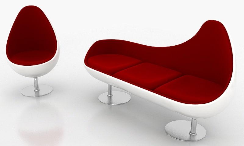 max sofa eggs design