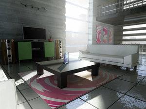 maya sofa armchair table