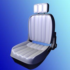 free auto sitz 3d model