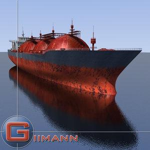 liquified tanker xsi