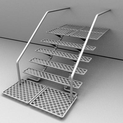 max industrial stair