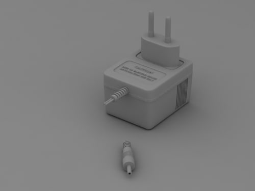 3d ac dc adapter model