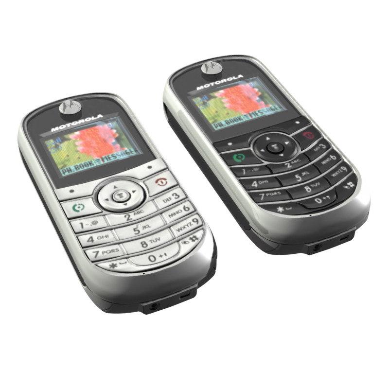 motorola c139 c140 3d ma rh turbosquid com Motorola W175 Motorola TracFone Cell Phones