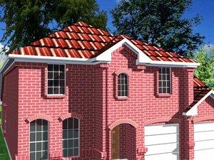 medium house 3d max