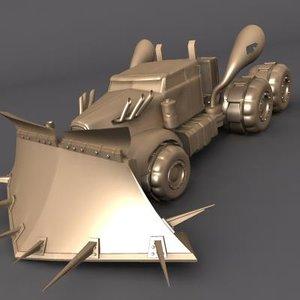 maya sand truck