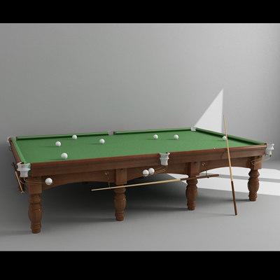 3d russian billiard