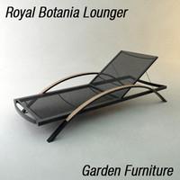 Garden Lounger
