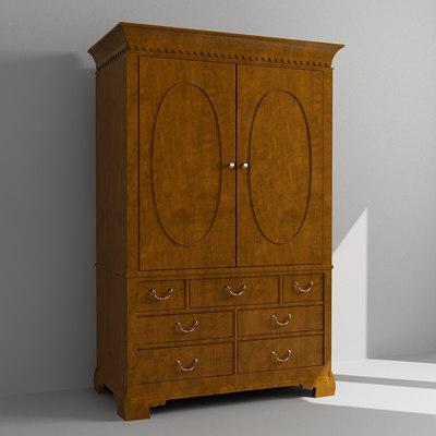 armoire 3d model